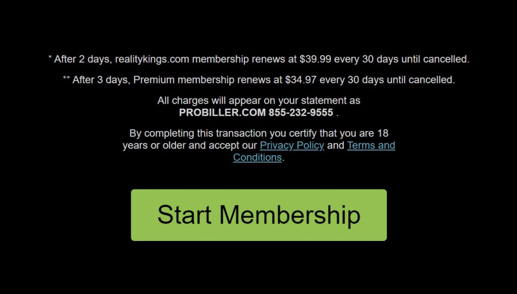 Start your membership