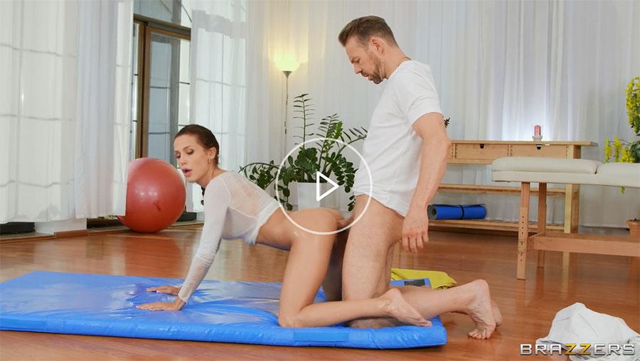 Oily Yoga Brazzers Extras