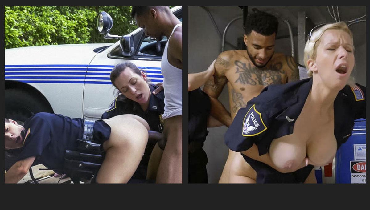 Black Patrol Porn Deal