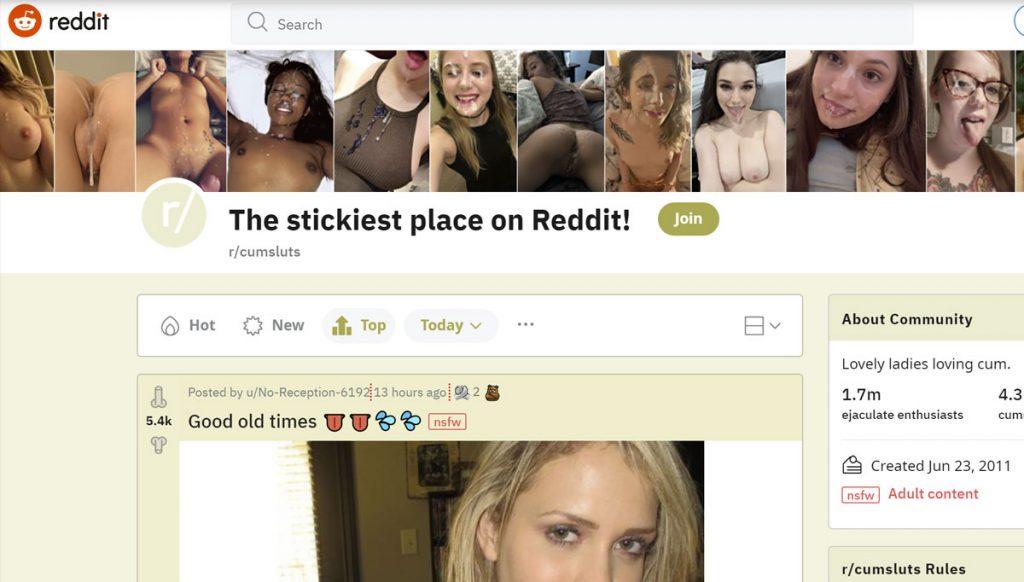 cumsluts subreddit