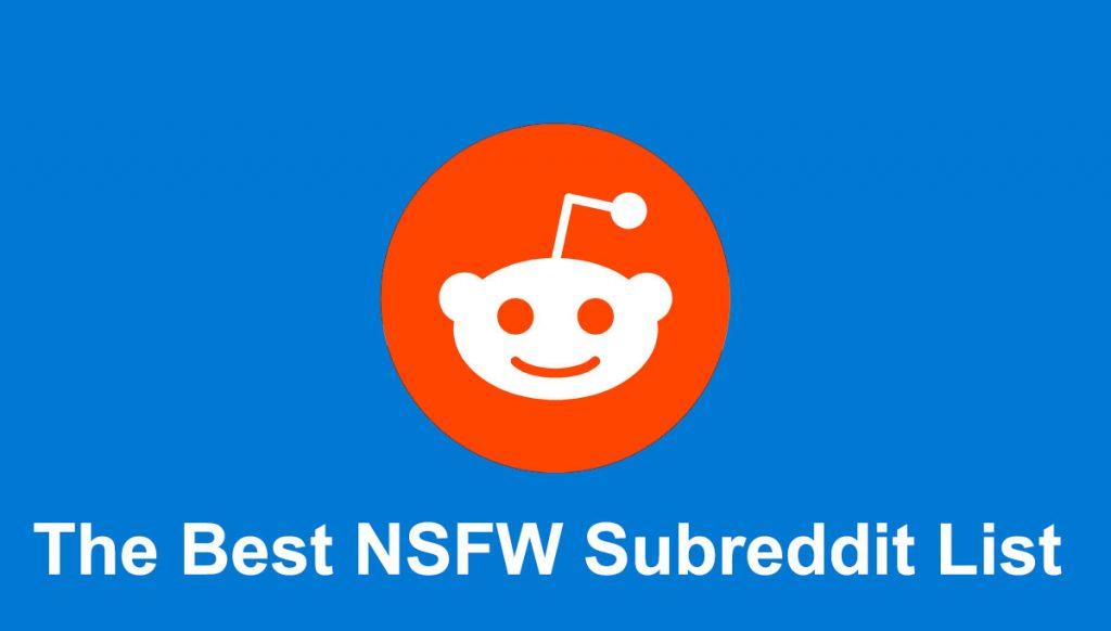 best nsfw subreddit list