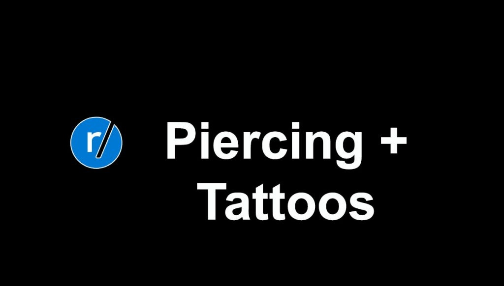 Tattoos and piercings porn