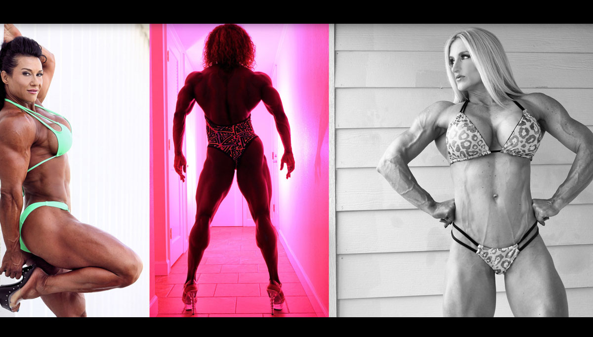 Female Muscle Video